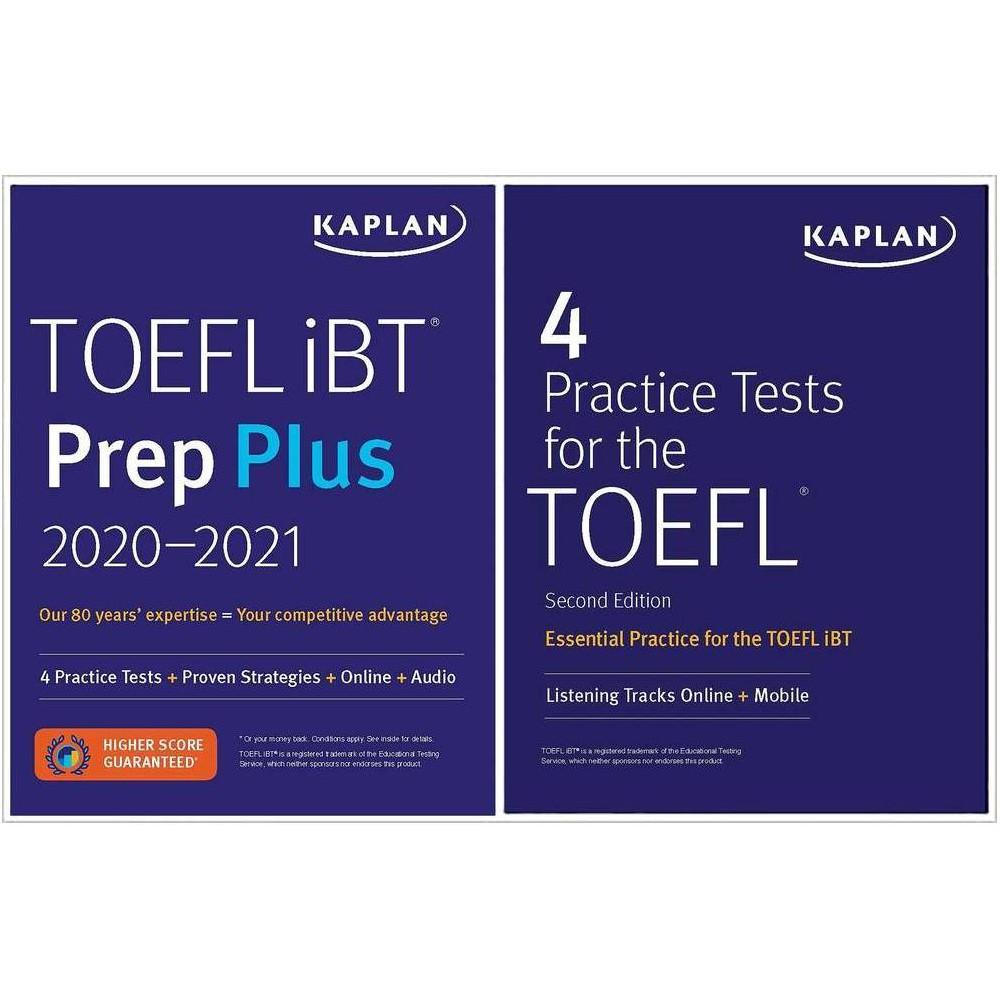 Toefl Prep Set Kaplan Test Prep Paperback