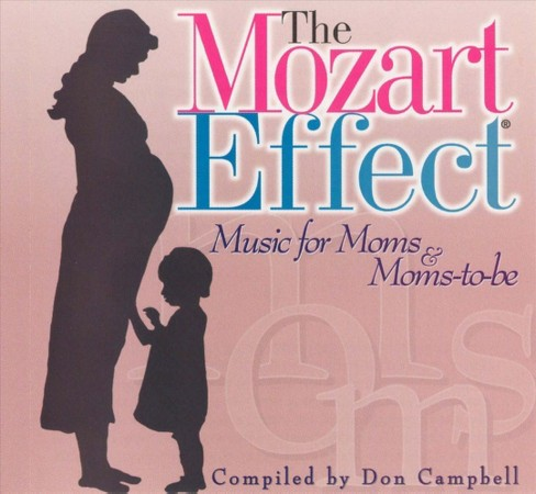 Don campbell - Mozart effect-music for moms & moms (CD) - image 1 of 2