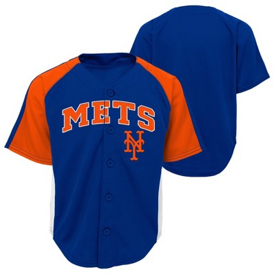 New York Mets Boys' Infant/Toddler Team Jersey - 12M