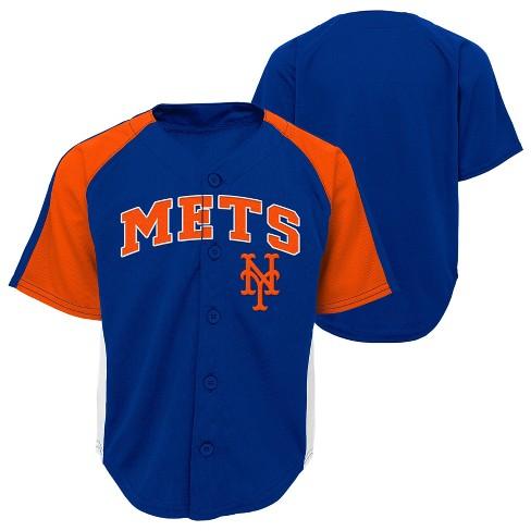 premium selection e20df 1d7f9 New York Mets Boys' Infant/Toddler Team Jersey - 4T