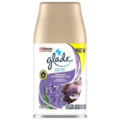 Glade Lavendar and Aloe Automatic Spray Refill - 6.2oz