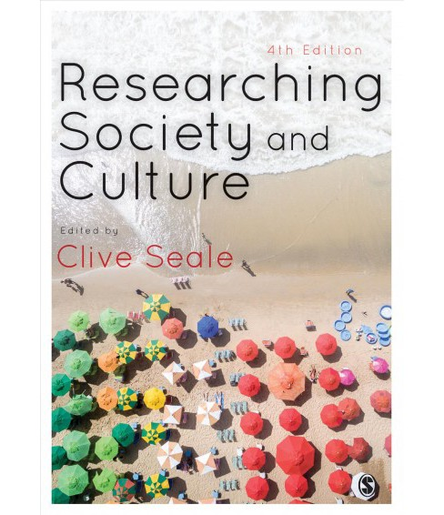 Researching Society and Culture -  (Paperback) - image 1 of 1