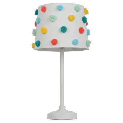 Pom Pom Shade Table Lamp - Pillowfort™ - image 1 of 3