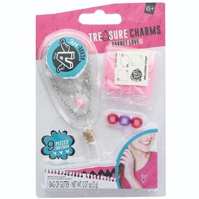 Anker Play Acade-Me Treasure Charm Bracelets Jewelry Craft Kit: Garnet Love (Pink)