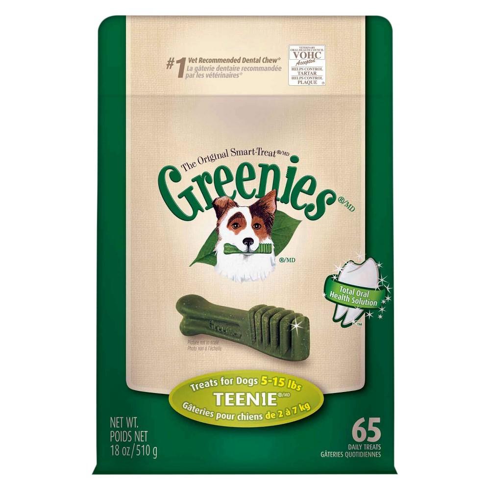 Greenies Dental Chew Treats for Dogs - Teenie Dog (18oz)