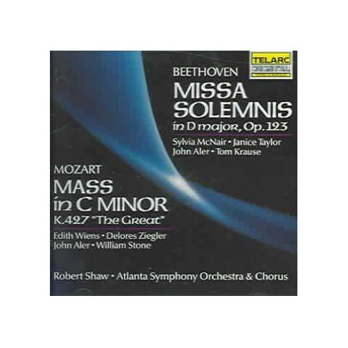 Shaw & Aso - Mozart: Mass/Beethoven: Missa Solemnis (CD) - image 1 of 1