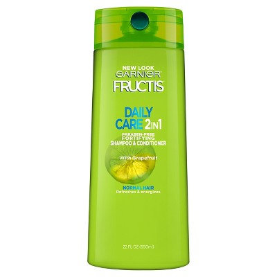 Garnier Fructis Daily Care 2 in 1 With Grapefruit Fortifying Shampoo & Conditioner - 22 fl oz