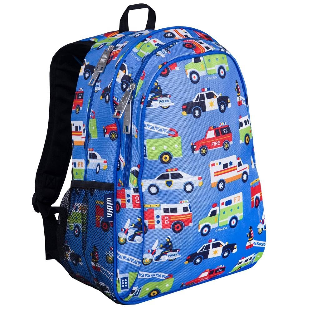 Wildkin 15 34 Olive Heroes Sidekick Kids 39 Backpack Blue