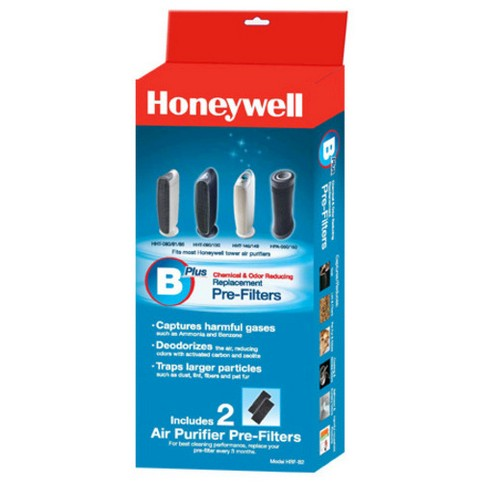 Honeywell Chemical & Odor Reducing Replacement Pre-Filter - 2 Pack - image 1 of 2