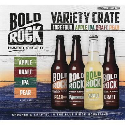 Bold Rock Beer Variety Crate - 12pk/12 fl oz Bottles