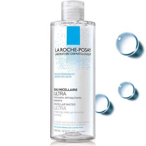 La Roche Posay Micellar Cleansing Water and Makeup Remover for Sensitive Skin - 13.52 fl oz - image 1 of 2