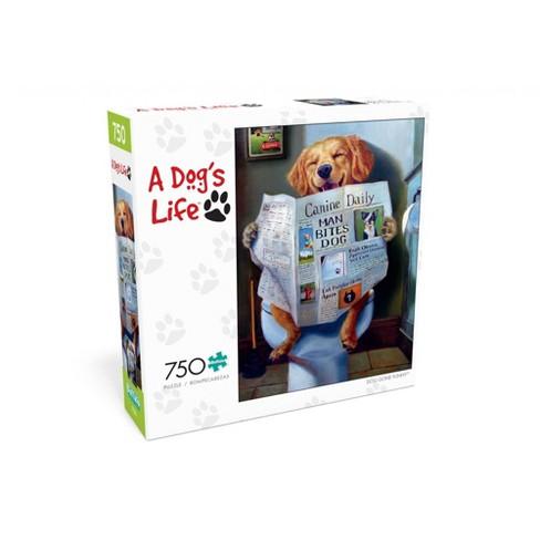 Buffalo Games A Dog's Life: Dog Gone Funny Puzzle 750pc - image 1 of 2