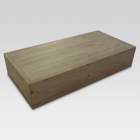 """Real Wood Floating Shelf 12"""" - Threshold™ - image 1 of 1"""