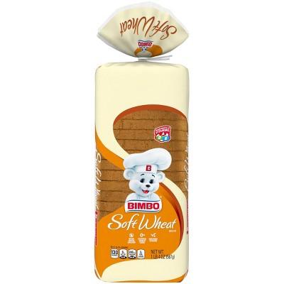 Bimbo Soft Wheat Bread - 20oz