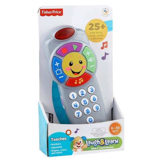 Fisher-Price Laugh & Learn Click 'n Learn Remote image number null