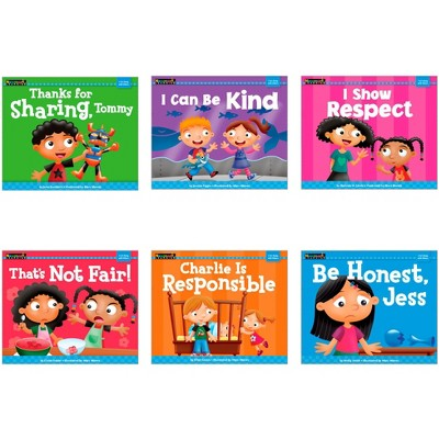 NewMark Learning MySELF Single-Copy Set: I Get Along With Others, English, set of 6