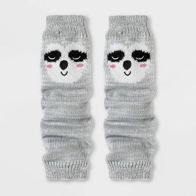 Girls' Sloth Legwarmers - Cat & Jack™ Gray One Size