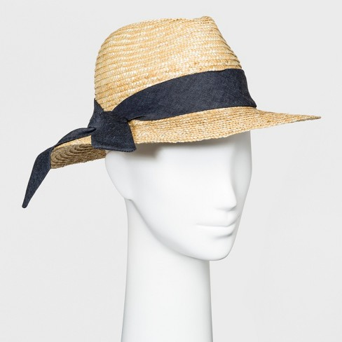 035891c5945fc3 Women's Panama Hat - A New Day™ Natural : Target