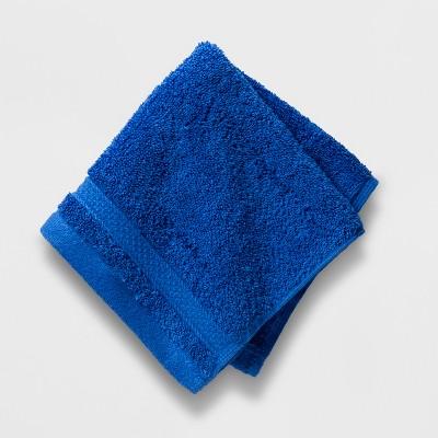Soft Solid Washcloth Bright Blue - Opalhouse™