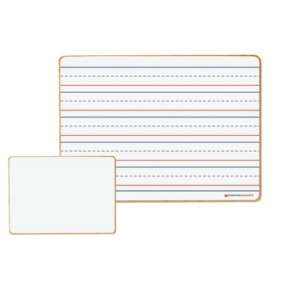 Dowling Magnets Magnetic Dry-Erase Lined/Blank Board 6 boards DO-72500025
