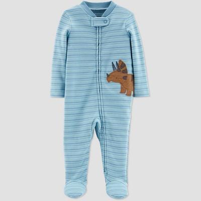 Little Planet Organic by Carters Baby Boys' Dino Sleep N' Play - Blue Preemie