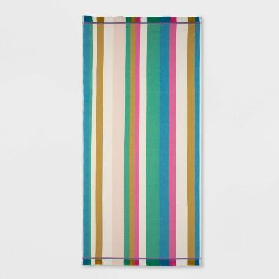 XL Flat weave Beach Towel Stripes - Opalhouse™