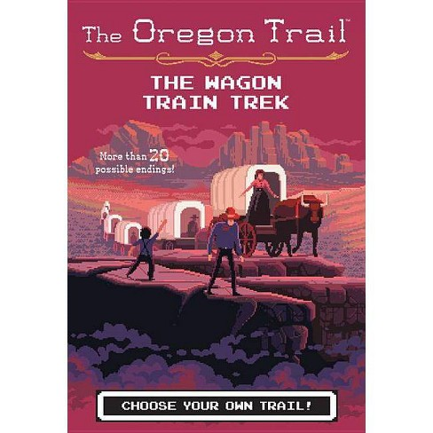 The Wagon Train Trek the Wagon Train Trek - (Oregon Trail) by  Jesse Wiley (Paperback) - image 1 of 1