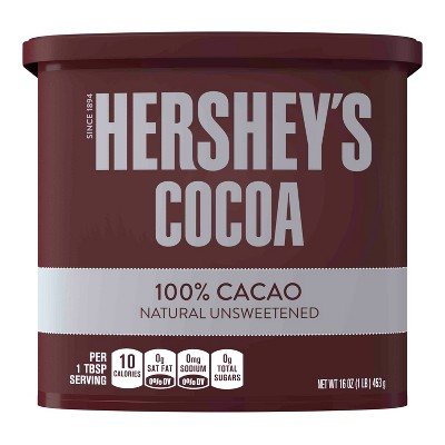 Hershey Unsweetened Baking Cocoa - 16oz