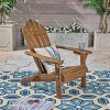 Hollywood Acacia Wood Foldable Patio Adirondack Chair - Christopher Knight Home - image 2 of 4