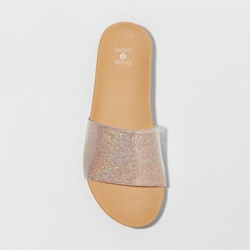 a7d22397b Women s Pixie Glitter Slide Sandals - Shade   Shore™ Silver. Shop all Shade    Shore