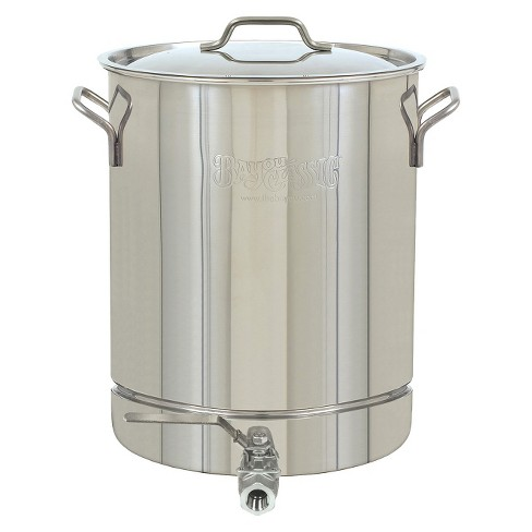 Bayou® Classic Stainless Stockpot with Spigot - 8 Gal. - image 1 of 1