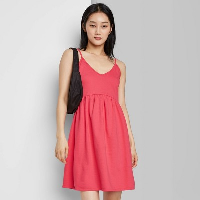 Women's Sleeveless French Terry Leisure Dress - Wild Fable™