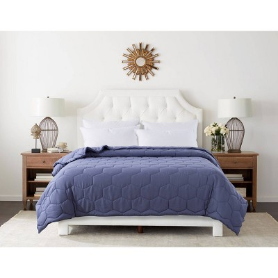 Honeycomb with Piping Down Alternative Duvet Insert - St. James Home