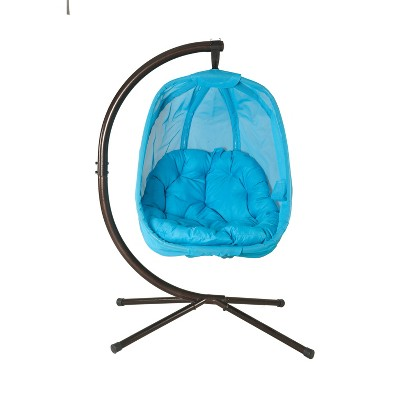 Hanging Egg Chair with Stand - FlowerHouse