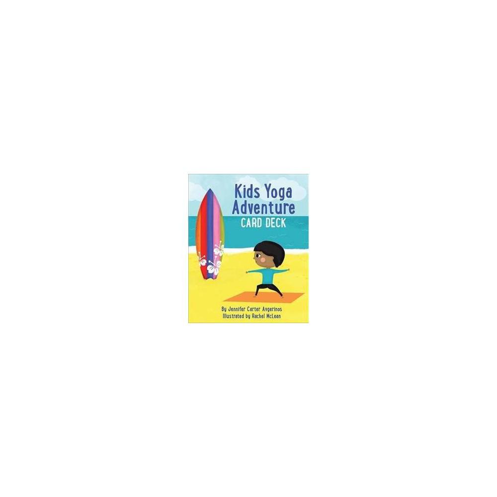 Kids Yoga Adventure Card Deck - Crds by Jennifer Carter Avgerinos (Paperback)