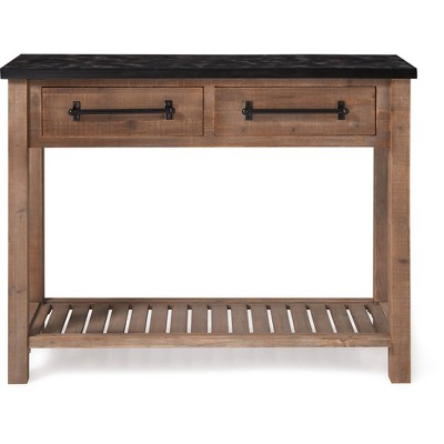 Eugene Console Table Brown - ClickDecor