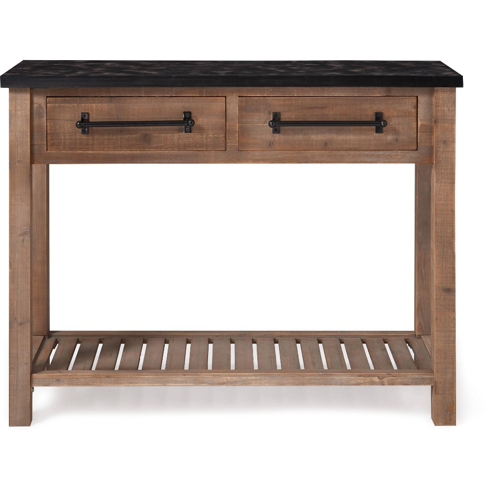 Image of Eugene Console Table Brown - Click Décor