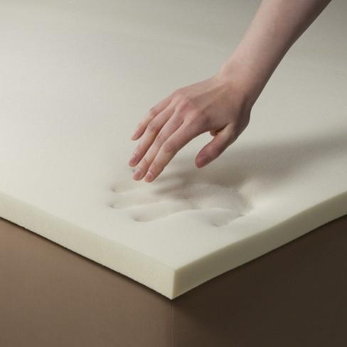 threshold memory foam mattress topper 1½