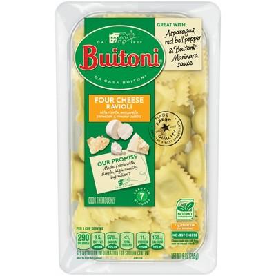 Buitoni All Natural Four Cheese Ravioli Prepared Pasta Dishes - 9oz
