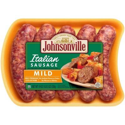 Johnsonville Mild Italian Fresh Sausage Links - 19oz/5ct