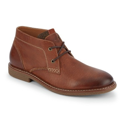 Dockers Mens Greyson Leather Casual Chukka Boot