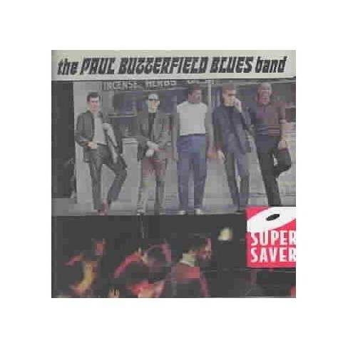 The Paul Butterfield Blues Band - The Paul Butterfield Blues Band (CD) - image 1 of 1
