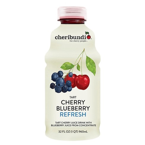 Cheribundi Tart Cherry Blueberry Refresh - 32 fl oz Bottle - image 1 of 1