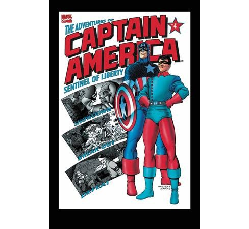 Captain America : The Adventures of Captain America -  by Fabian Nicieza & Karl Kesel (Paperback) - image 1 of 1