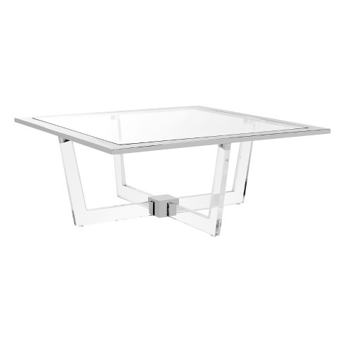 Coffee Table Clear - Safavieh - image 1 of 5