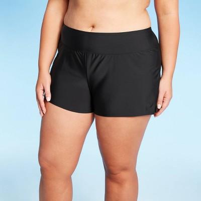 Women's Plus Size Swim Boyshort - Kona Sol™