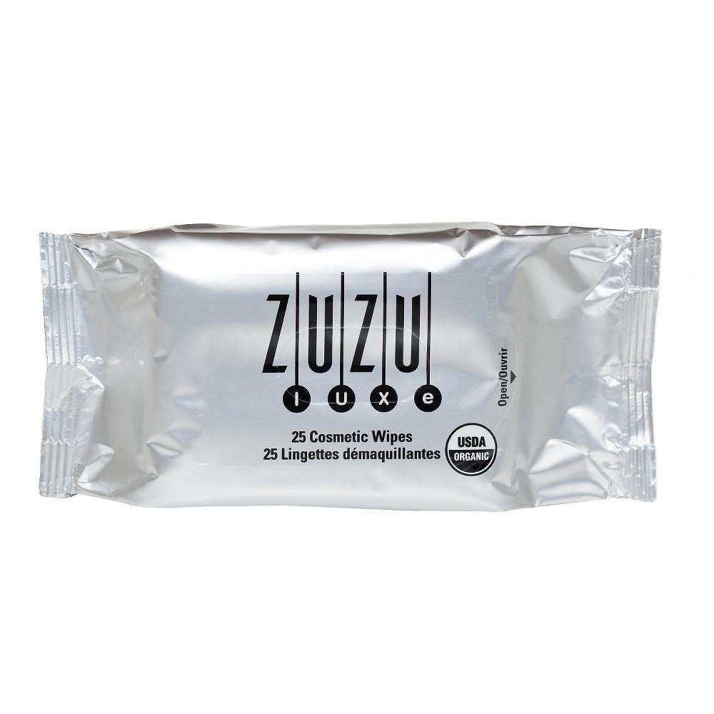 Zuzu Luxe Cosmetic Wipes - 25 ct