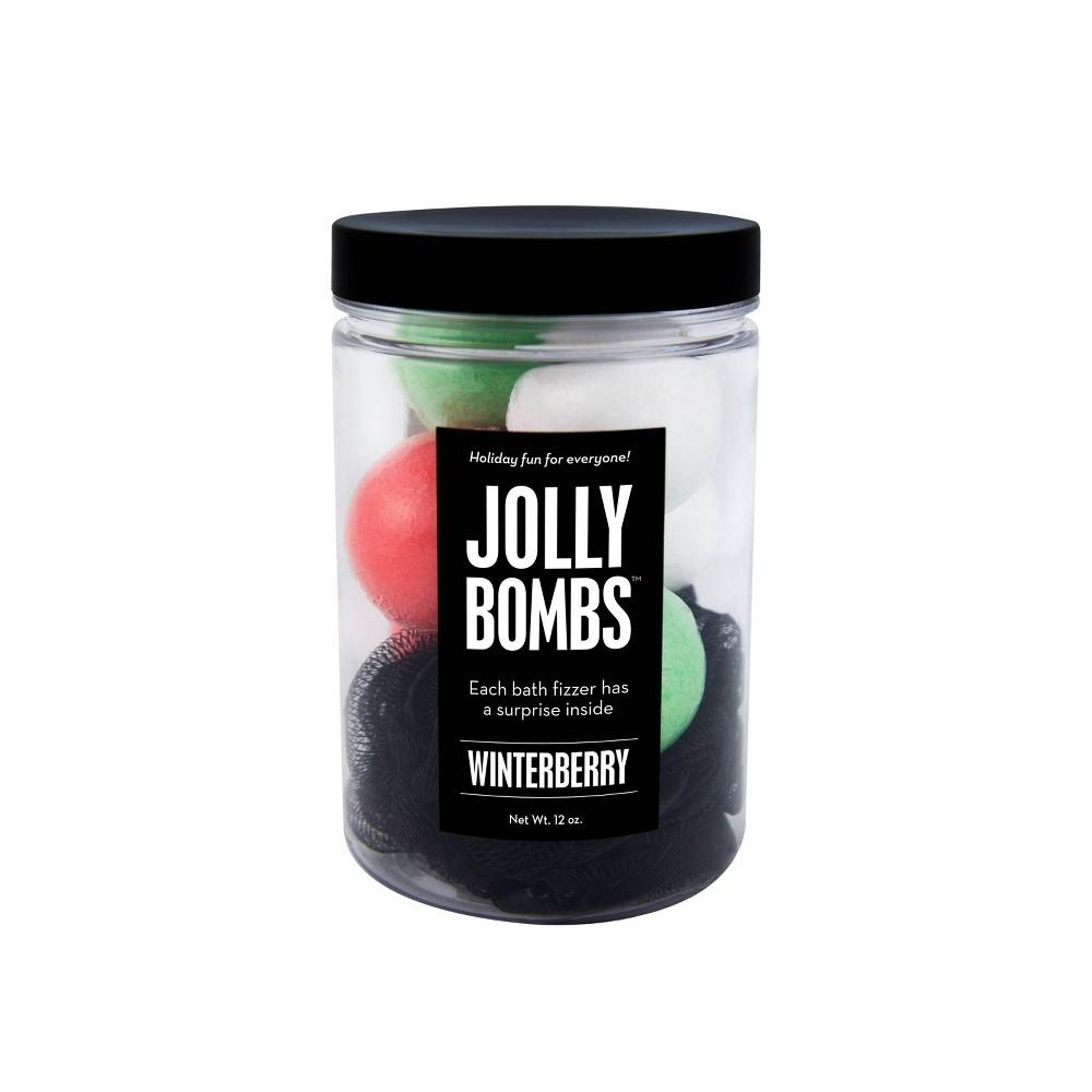 Image of Da Bomb Bath Fizzers Jolly Bath Bomb Jar - 12oz