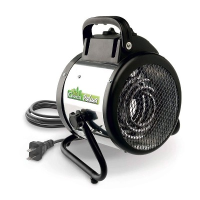 Bio Green PAL 2.0/US Indoor Outdoor Portable Palma Basic Greenhouse Electric Space Heater Fan for Up to 120 Square Feet, 5118 BTU, 1500 Watt