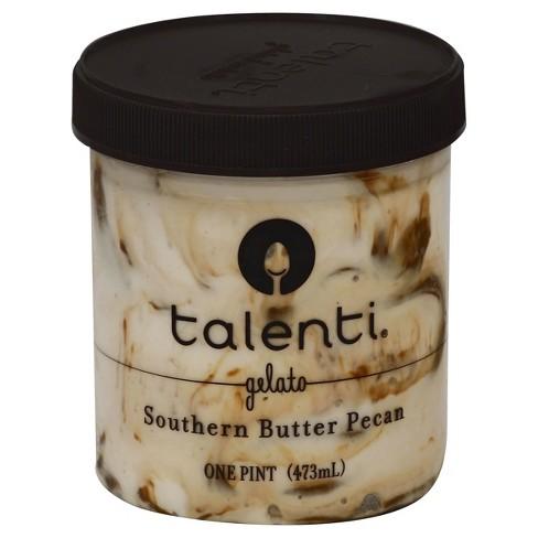 talenti gelato southern butter pecan - 16oz : target